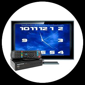Телевизор с приставкой DVB-T2