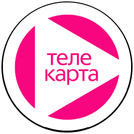Цифровое телевидение Логотип Телекарта