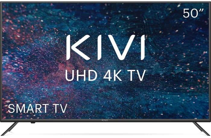 Телевизор на 20 каналов KIVI 50U600KD