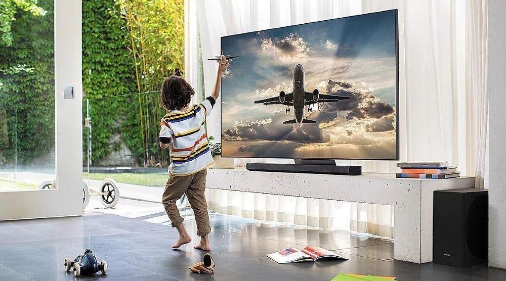 Samsung QE55Q90TAU Лучшие Смарт-телевизоры 2021